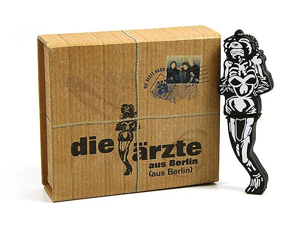 vollflächig bedruckte geschenkverpackung die ärzte, Individuelle Klappbox