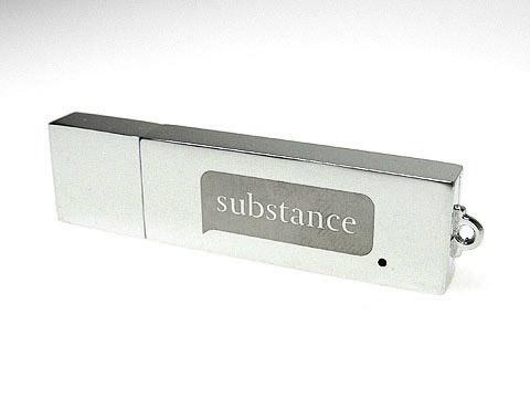 Edler Metall-USB-Stick Werbegeschenk graviert, Metall.04