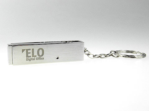 elo drehbarer massiver metall usb-stick, Metall.05