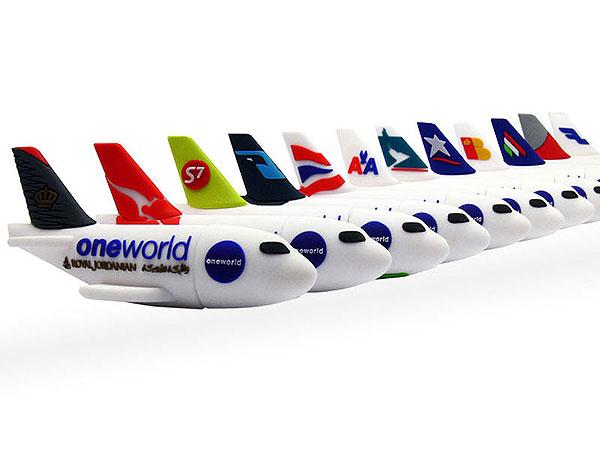 Flugzeuge, Airlines, Flieger, OneWorld, Vereinigung, Custom, Modifizierbar, PVC, USB Flugzeug