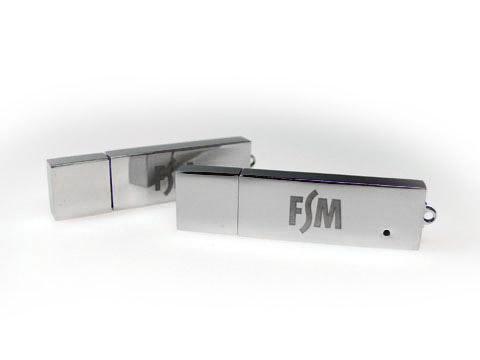 FSM Metall-USB-Stick edel graviert, Metall.04
