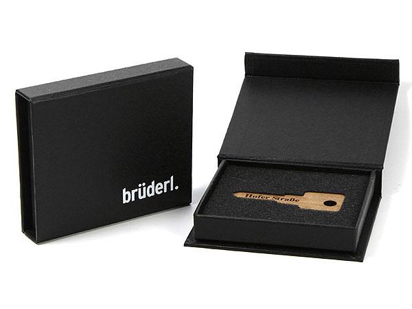 Geschenkbox, verpackung, magnetbox, logo, aufdruck, schlüssel