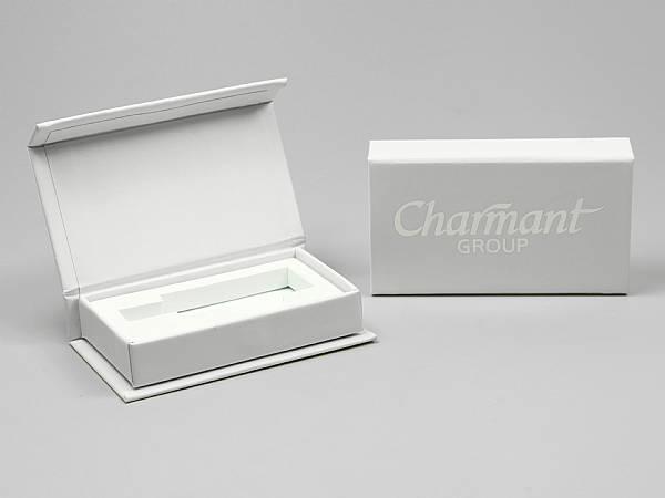 geschenkverpackung box weiss logo silber edel.JPG