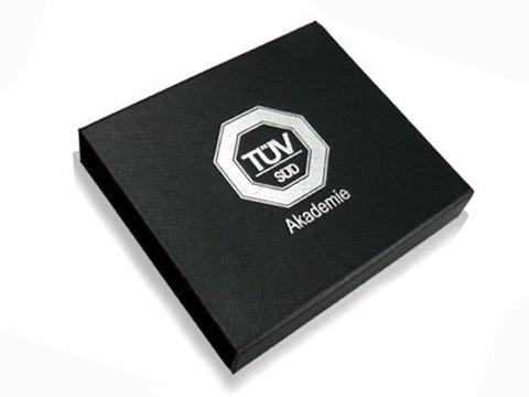Geschenkverpackung Klappbox Aufdruck, K01 Magnetklappbox