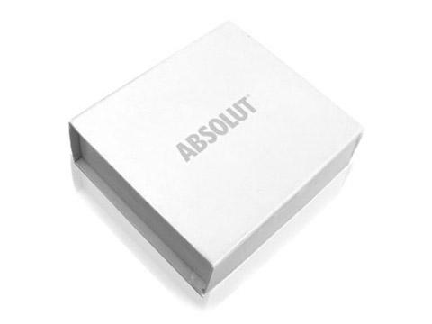 Grosse Geschenkverpackung Aufdruck edel, K03 Maxi Magnetbox