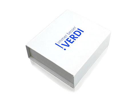 Grosse Klappbox Geschenkverpackung weiss, K03 Maxi Magnetbox