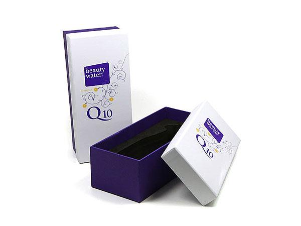 hochwertige Geschenkverpackung farbig bedruckt, Individuelle Stülpdeckelbox