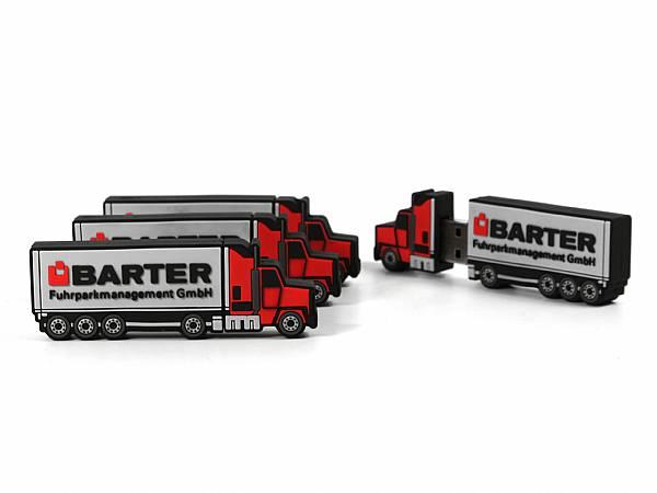 individuelle truck usb sticks mit logo als werbegeschenk