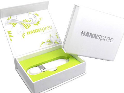USB-Stick Verpackung weiss, K03 Maxi Magnetbox digitaldruck