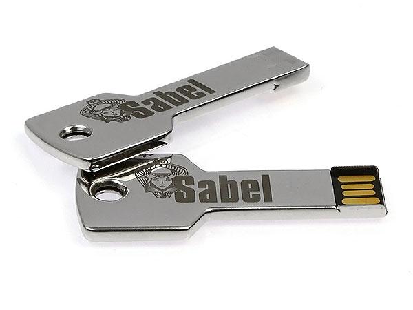 Sabel Key USB Stick Schlüssel mit Lasergravur