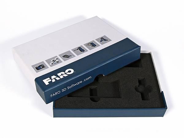 klappschachtel box verpackung inlay schwarz druck logo