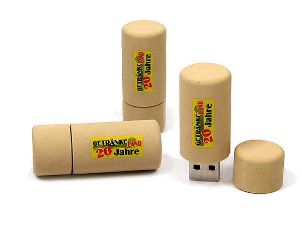 PVC USB Stick in Form eines Kunstkorkens