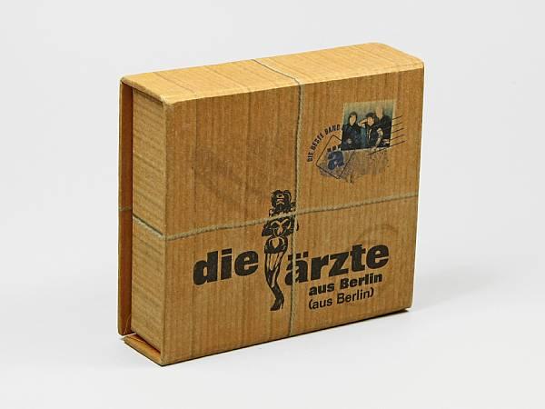 label die ärzte usb geschenkverpackung