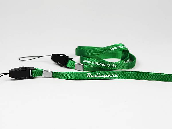 lanyard umhängeband stoffband mit logodruck