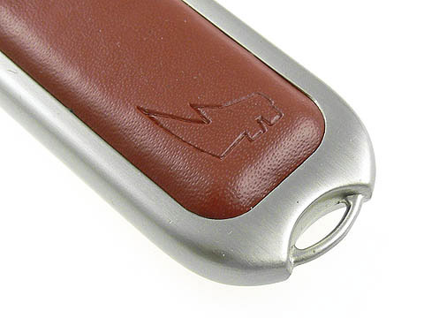 Leder-USB-Stick mit Logo-Praegung, Leder.02
