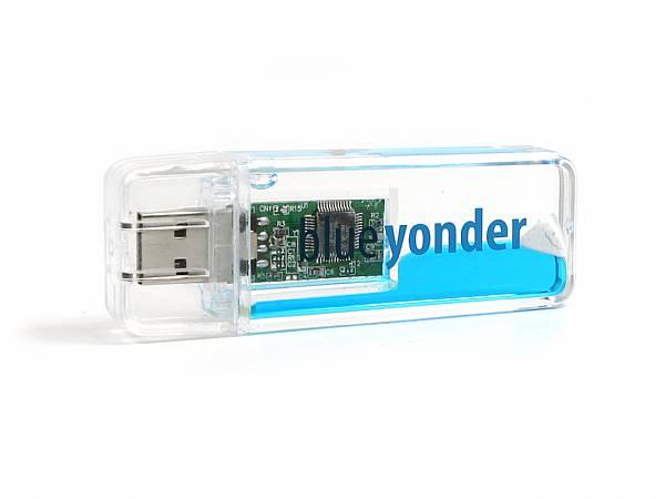 Fun USB-Stick, transparent m. Flüssigkeit, Liquid.02