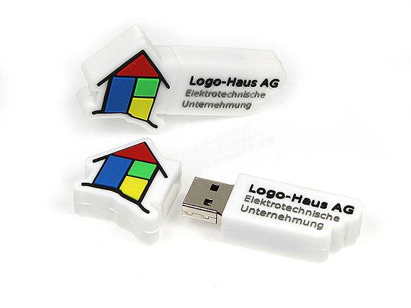usb-stick-logo-freiform-100.html, logo, pvc, weiß, bunt, CustomLogo, PVC