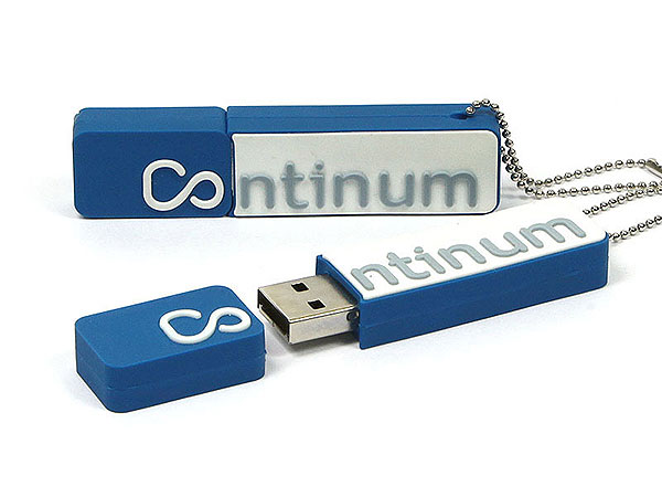 logo-usb-stick-Continum, Custom USB-Sticks