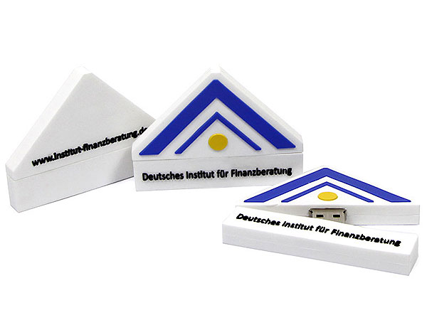logo dreieckig, Logo, Finanzberatung, Banken, Beratung, weiß, haus, CustomLogo, PVC