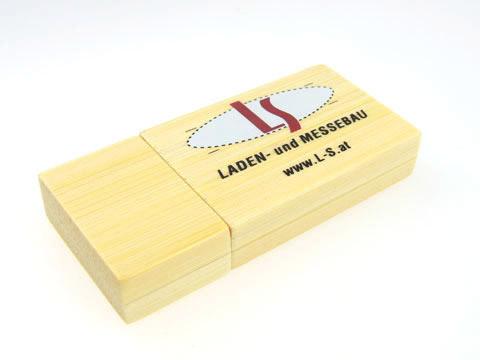 ls werbegeschenk usb-stick, Holz.03