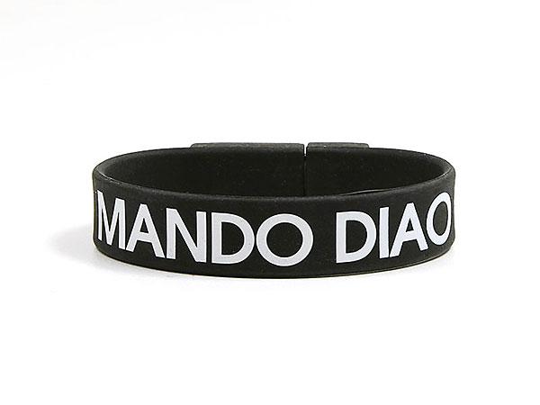 mando diao usb-stick armband bedruckt fanartikel, USB Armband.01