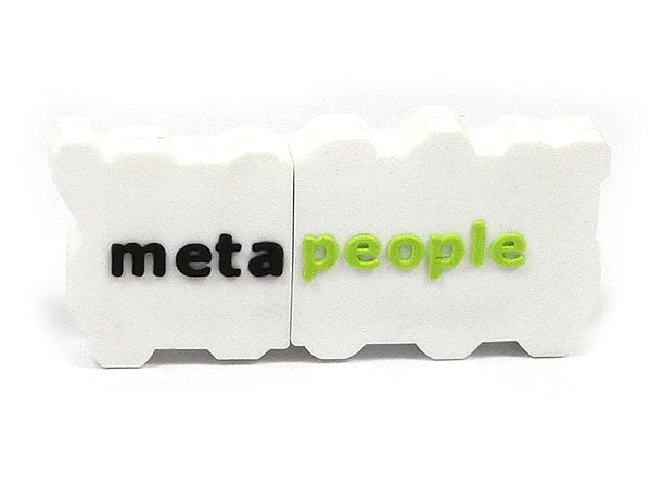 usb-stick-logo-freiform-100.html, metapeople, logo, weiß, CustomLogo, PVC
