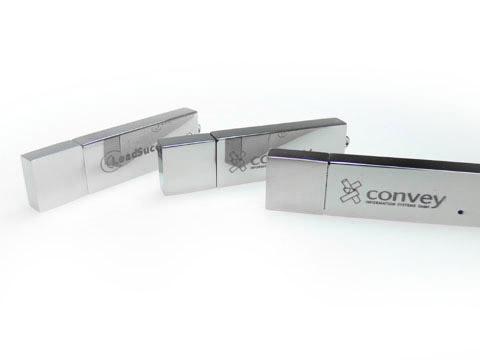 Metall-04 USB-Stick Gravur convey, Metall.04