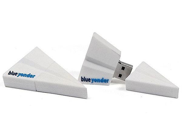 Papier, Papierflieger, Flugzeug, Basteln, weiß, CustomModifizierbar, PVC, USB Flugzeug