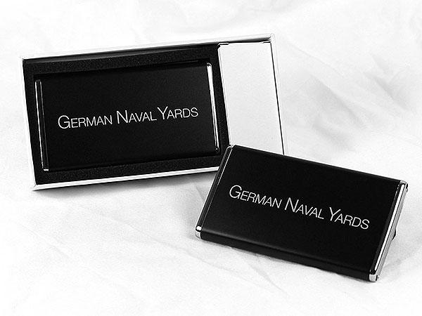 german naval yards power bank akku mobil black hochwertig schwarz