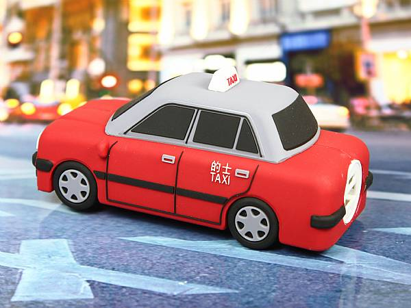 powerbank akku taxi auto fahrzeug custom werbung