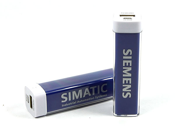 akku batterie aufdruck firmenlogo blau lila violett siemens