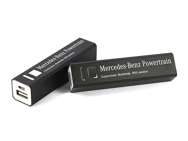 akku batterie aufdruck werbegeschenk mercedes-benz schwarz