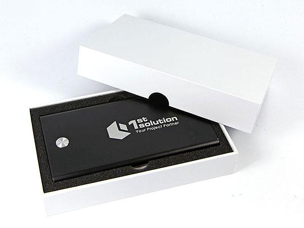 akku batterie gravur silber schwarz
