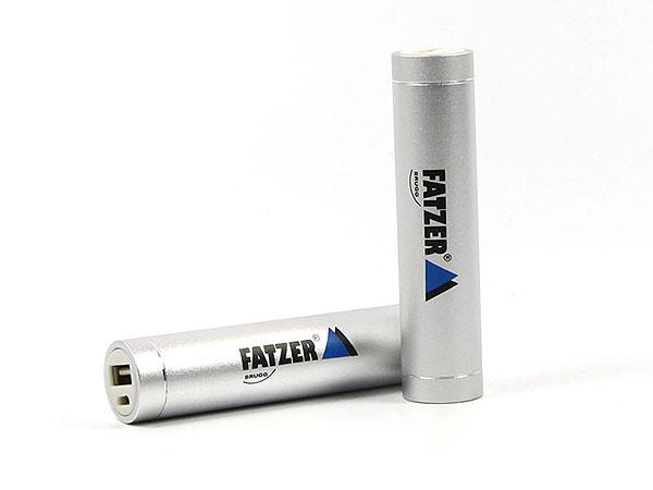 akku batterie druck silber matt aufdruck werbegeschenk print