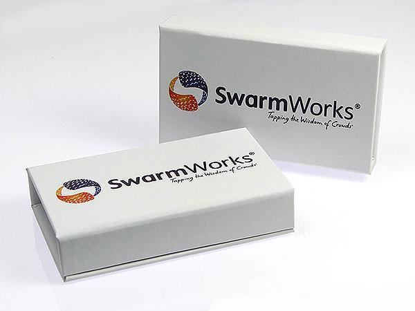 Produktverpackung mit Aufdruck Digitaldruck, K02 Mini Magnetbox
