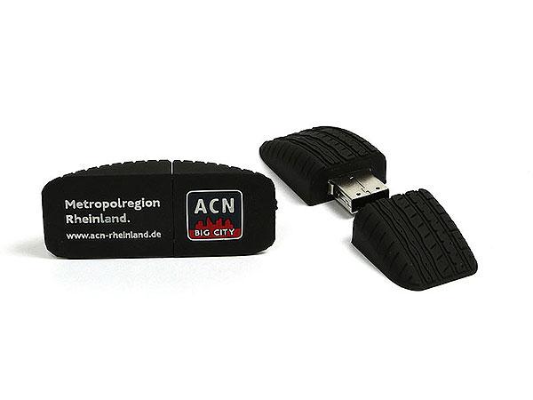 USB Reifen, Autoreifen, Reifenprofil, Car, pvc, schwarz, tire, transport, PVC