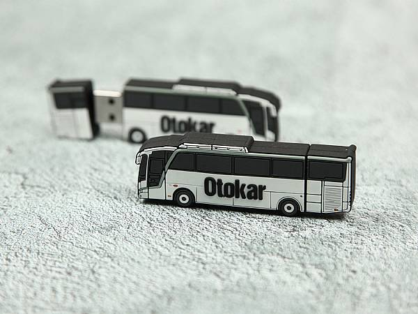 reisebus usb stick travel otokar