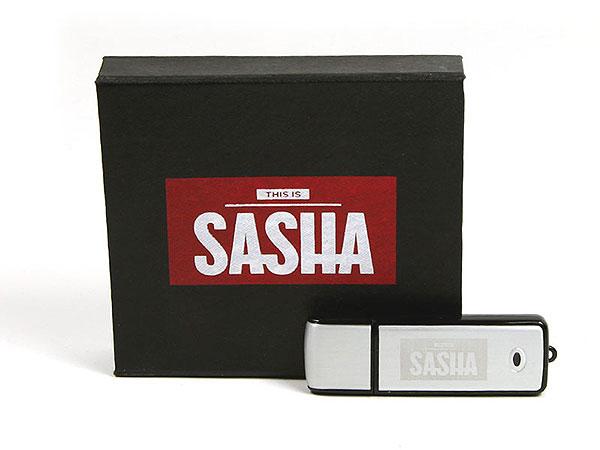 sascha farbig bedruckt verpackung usb-stick werbeartikel, K01 Magnetklappbox, famous