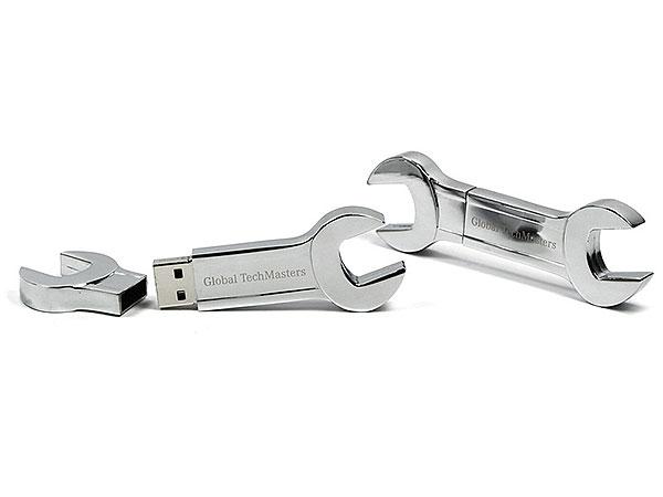 Global Techmasters Schraubenschluessel Werkzeug tool usb