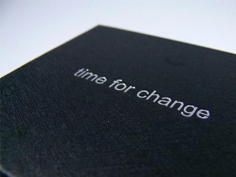 Schwarze Geschenkbox edel bedruckt, K01 Magnetklappbox