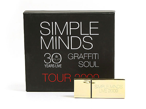simple minds geschenkverpackung usb-stick aufdruck, K01 Magnetklappbox, famous,