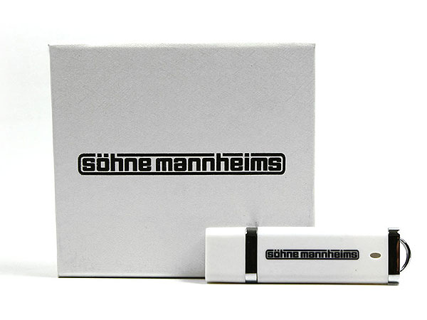 söhne mannheims geschenkverpackung usb-stick, K01 Magnetklappbox, famous,
