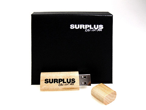 surplus usb-stick holz, Holz.02