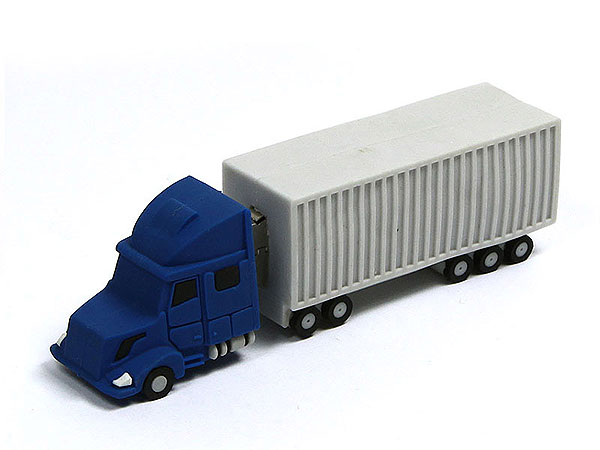 Truck usb sticks, LKW, Lastwagen, pvc, weiß, lkw usb sticks, transport, CustomProdukt, PVC