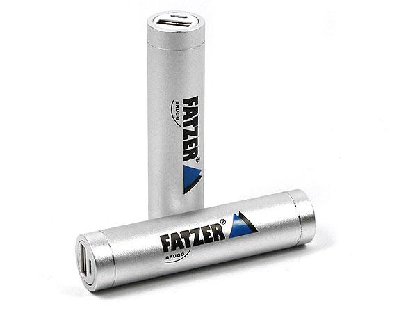 PowerTube, mobiles Ladegerät bedrucken mit Logo