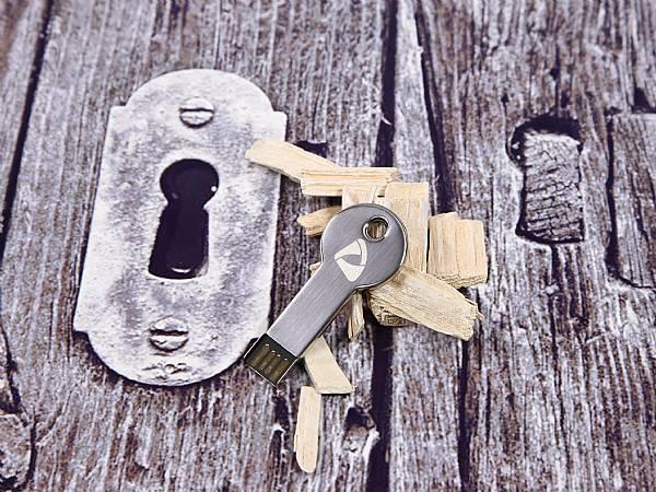 usb  metall schlüssel alu key metall 03 schlüssel ufd rund flacher schlüssel