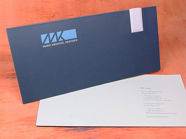 Paper USB Mailing Card