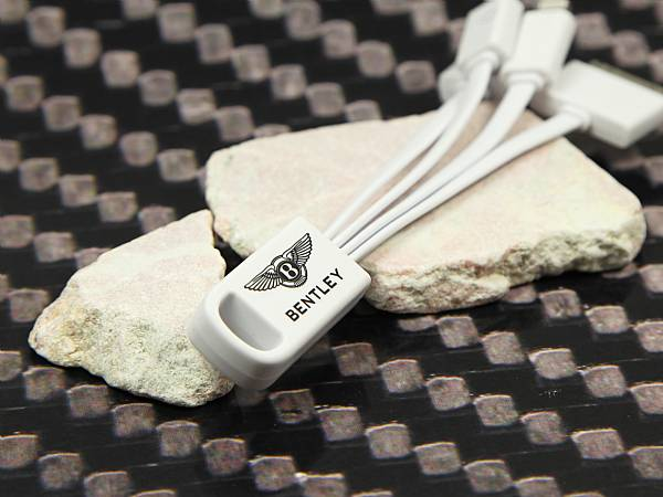 usb kabel bentley logo werbegeschenk adapterkabel