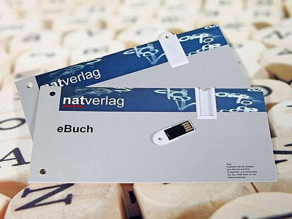 usb mailing card postkarte papierkarte stick werbung post
