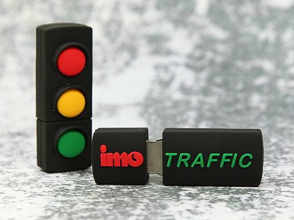 usb stick ampel verkehr rot gelb gruen logo